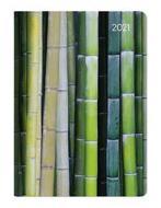 Agenda 12 mesi settimanale 2021 Ladytimer Midi Bamboo