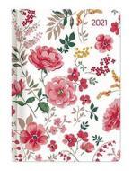Agenda 12 mesi settimanale 2021 Ladytimer Midi Flowers