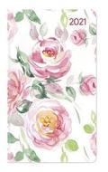 Agenda 12 mesi settimanale 2021 Ladytimer Slim Roses