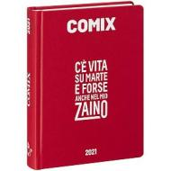 Comix 2020-2021. Diario agenda 16 mesi standard. Rosso