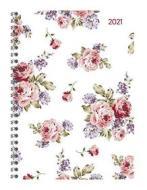 Agenda 12 mesi settimanale spiralata 2021 Ladytimer Roses