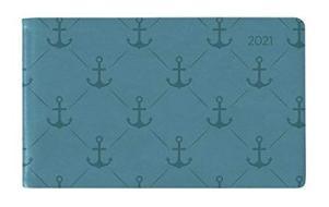 Agenda 12 mesi settimanale 2021 Ladytimer TO GO Deluxe Turquoise