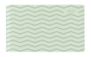 Agenda 12 mesi settimanale 2021 Ladytimer TO GO Deluxe Pastel Mint