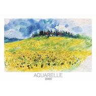 Calendario 2020 Aquarelle 49,5x34 cm