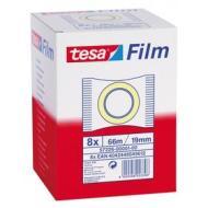 Confezione 8 rotoli di nastro adesivo trasparente 19 mm x 66 m (57226)