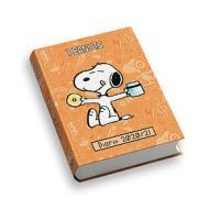 Diario Peanuts copertina imbottita 2020-2021. Arancione