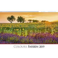 Calendario 2019 Colours 49,5x34 cm