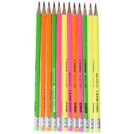 Confezione 12 matite in grafite fluo Swano 4907 HB