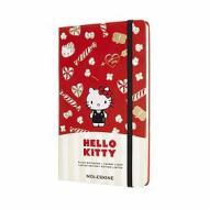 Moleskine - Taccuino Hello Kitty a righe rosso - Large copertina rigida