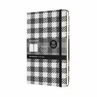 Moleskine - Taccuino Blend Collection a righe Check Pattern - Large copertina rigida
