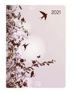 Agenda 12 mesi giornaliera 2021 Style Hummingbird Tree