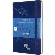 Moleskine - Taccuino a righe Harry Potter blu - Large copertina rigida