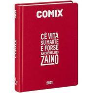 Comix 2020-2021. Diario agenda 16 mesi mini. Rosso