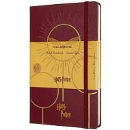Moleskine - Taccuino a righe Harry Potter bordeaux - Large copertina rigida