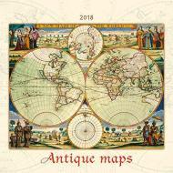 Calendario da muro Mappe antiche 2018