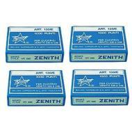 Confezione 4000 punti metallici 4mm per cucitrici Zenith 590/548