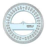 Goniometro 360 gradi TecnoSchool 12 cm