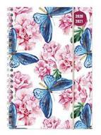 Diario agenda 16 mesi spiralata settimanale 2020-2021 Collegetimer A5 Butterfly