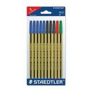 Confezione 10 penne colorate Noris Stick 434