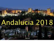 Calendario da muro Andalusia 2018