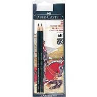 Confezione 2 matite Castell 9000 6B