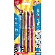 Confezione 4 penne a gel cancellabili Replay Premium colori vivaci