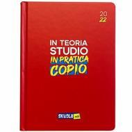 Skuola.net 2021-2022. Agenda 16 mesi. Rosso