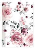 Agenda 12 mesi giornaliera 2021 Style grande Roses