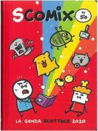 Comix 2019-2020. Agenda 16 mesi medium Scottecs by Sio. Rosso