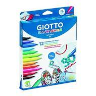 Confezione 12 pennarelli per tessuti Decor Textile