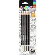 Confezione 4 matite in grafite HB con gomma