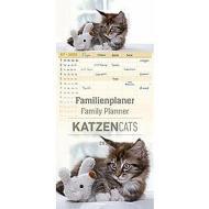 Calendario 2020 Family Planner Cats 21x45 cm