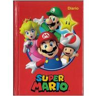 Diario 12 mesi Super Mario rosso non datato