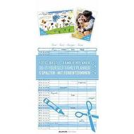 Calendario 2020 Do it yourself Family Planner 21x45 cm