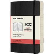 Moleskine 12 mesi - Agenda giornaliera nero - Pocket copertina morbida 2022