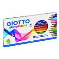 Confezione 12 pastelli Giotto Supermina