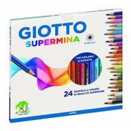 Confezione 24 pastelli Giotto Supermina