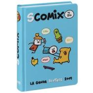 Agenda Comix 2018-2019. Diario 16 mesi medium Scottecs by Sio. Azzurro