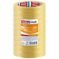 Confezione 10 rotoli di nastro adesivo Tesafilm 66mx15mm