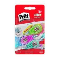 Confezione 3 correttori a nastro riscrivibile Pritt Micro Roller