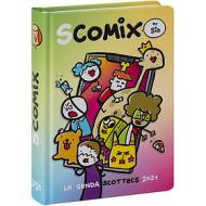 Comix 2020-2021. Diario agenda 16 mesi medium Scottecs by Sio. Multicolore