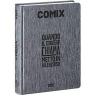 Comix 2020-2021. Diario agenda 16 mesi standard. Nero