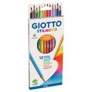Confezione 12 pastelli Giotto Stilnovo