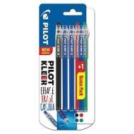 Confezione 6 penne a sfera cancellabili Kleer colori assortiti