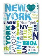 Diario settimanale 2016 Collegetimer New York A6