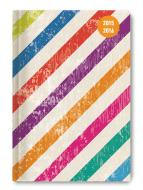 Diario settimanale 2016 Collegetimer Colour Stripes A6