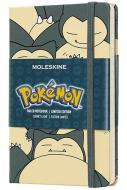 Moleskine taccuino con copertina rigida a righe pocket. Pokémon Snorlax. Limited edition
