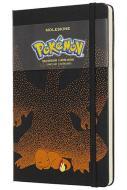 Moleskine taccuino con copertina rigida a righe large. Pokémon Charmander. Limited edition