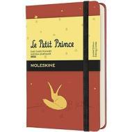 Moleskine 12 mesi - Agenda giornaliera Limited Edition Il Piccolo Principe corallo - Pocket copertina rigida 2022