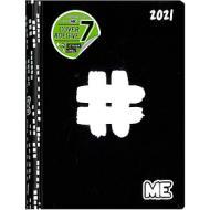 Diario agenda ME My Evolution 2020-2021 16 mesi. Nero (simbolo cancelletto)